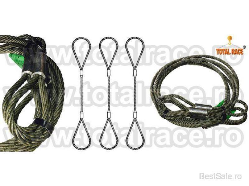 Cabluri de ridicare , sufe ridicare metalice - 7/8