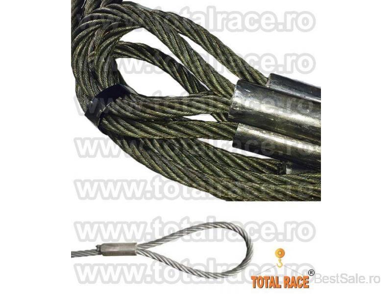 Sufe ridicare cabluri otel Total Race - 1/8
