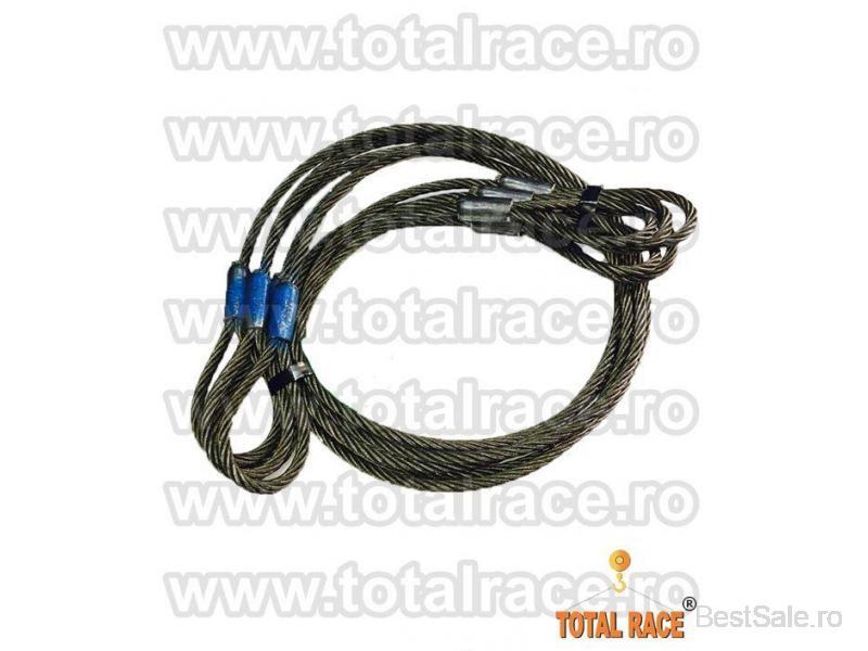 Sufe ridicare cabluri otel Total Race - 3/8