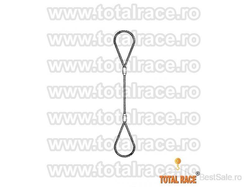 Sufe ridicare cabluri otel Total Race - 5/8