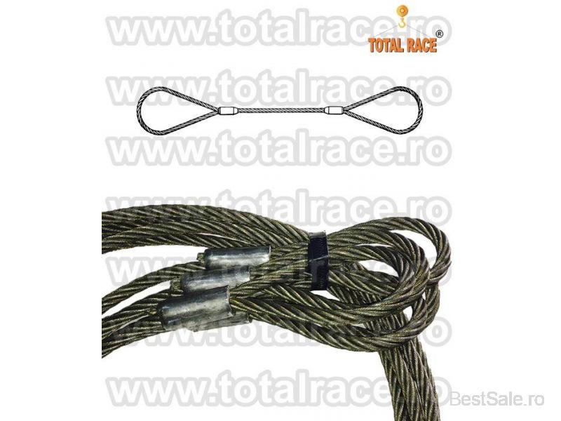 Sufe ridicare cabluri otel Total Race - 6/8