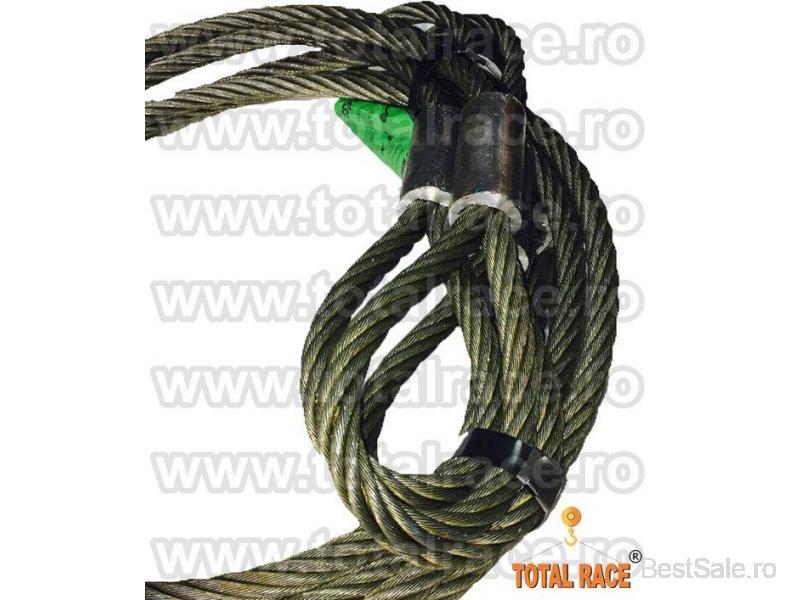 Sufe ridicare cabluri otel Total Race - 7/8